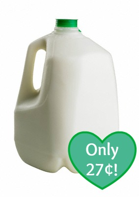 milk *HOT* Gallon of Milk Only $0.27 at Kroger!