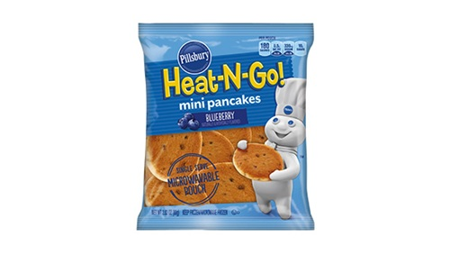 mini pancakes blueberry Free Pillsbury Heat n Go Pancakes at Kroger