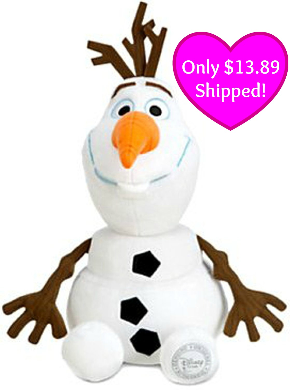 disney frozen exclusive 9 inch plush olaf only 1028 auto