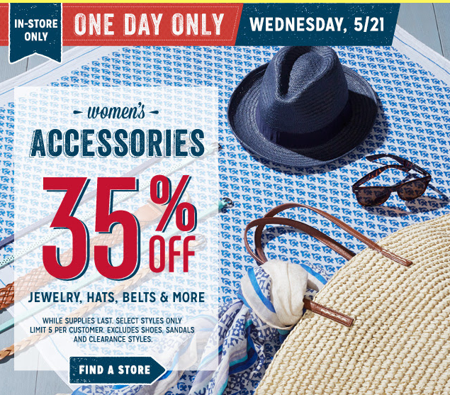 oldnavy2 Old Navy: Save 35% off Accessories + Earn Super Cash!