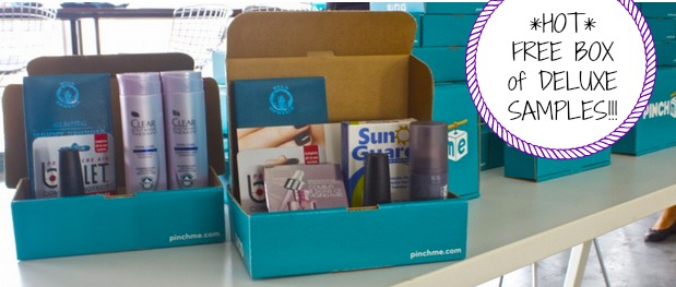 pinchme HOT! FREE Box FULL of Deluxe Samples for Men!