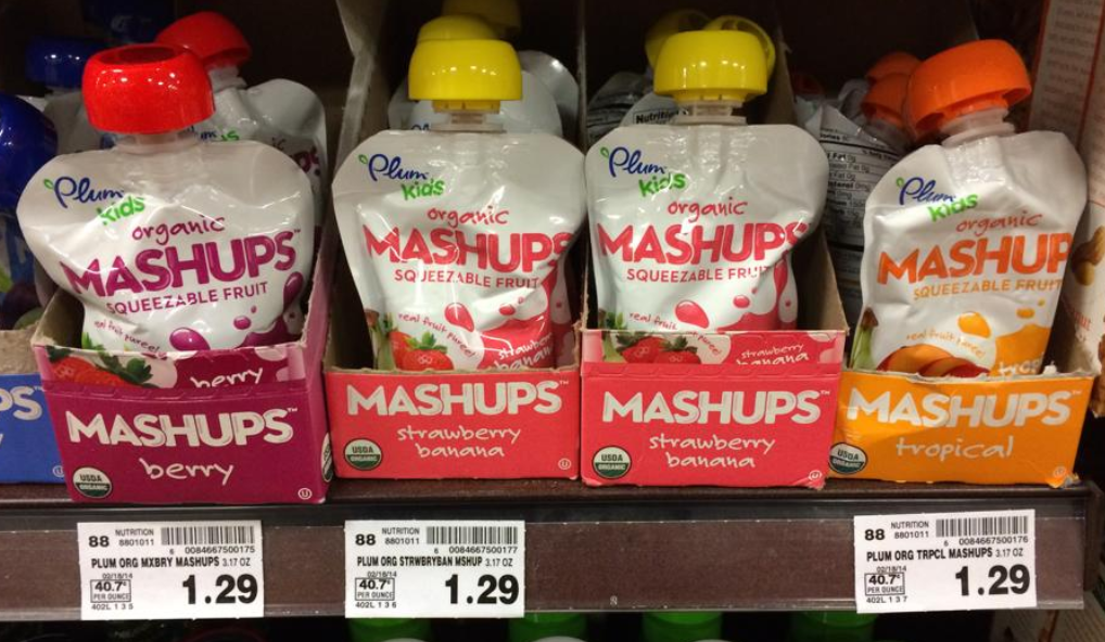 plum Plum Organics Mashups Only $.29 at Kroger!