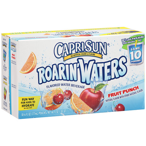 roarin waters Capri Sun Roarin Waters Only $1.25 at Publix!