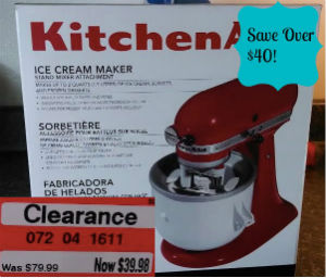 screen shot 2014 05 16 at 7 56 22 pm Kitchen Aid Ice Cream Maker Clearance only $39.98!