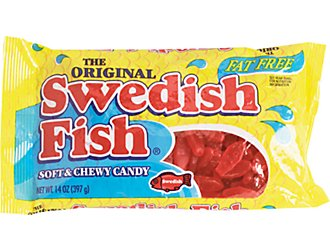 1 off 2 sour patch kids or swedish fish candy coupon for Sour swedish fish