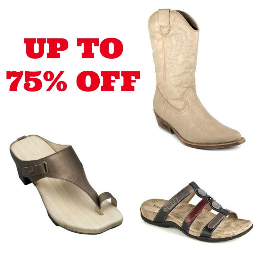 shoes collage2 1024x1024 Zulily: up to 75% off Womens Shoes!
