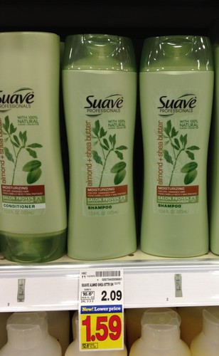 suave Suave Professionals Shampoo or Conditioner Only 59¢ at Kroger!