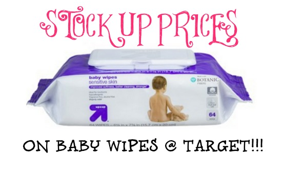 up up baby wipes Up & Up Baby Wipes Only $.80 at Target!