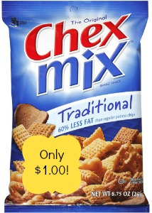 0001600015990 500X500 Chex Mix only $1.00 at Walgreens!