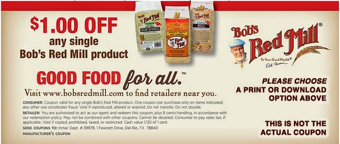 On average, Bobs Red Mill offers 33 codes or coupons per month. Check this page often, or follow Bobs Red Mill (hit the follow button up top) to keep updated on their latest discount codes. Check for Bobs Red Mill's promo code exclusions. Bobs Red Mill promo codes sometimes have exceptions on certain categories or brands/5(6).