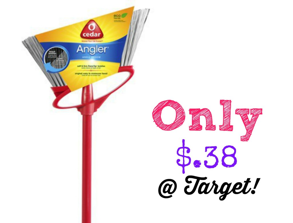O Cedar 1024x780 HOT! O Cedar Angler Angle Broom Only $.38 at Target! (reg. $7.99)