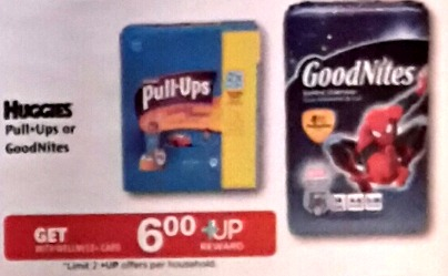 Pull Ups +Up HOT! Pull Ups Jumbo Packs As Low As $.49 at Rite Aid!