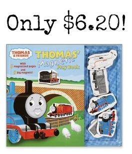 THOMAS Thomas' Magnetic Playbook Hardcover only $6.20!