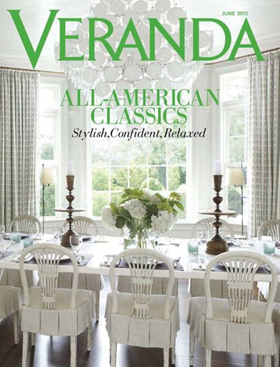 Veranda May June 2012 issue FREE 2 Year Subscription to Veranda Magazine!