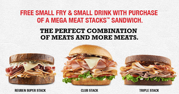 arbys Arbys: FREE Small Fry and Small Drink with Purchase!