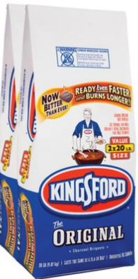 bag Kingsford Charcoal only $8.89 at Lowes!