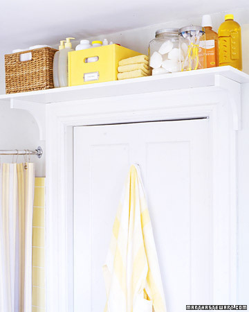 bathroomstorage DIY: Extra Bathroom Storage!