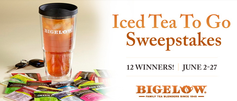 bigelow tea Enter to Win Tervis Tumbler + Bigelow Tea Assortment!