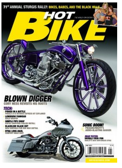 bike FREE Hot Bike Magazine Subscription!