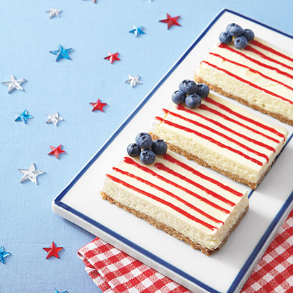 cheesecake bars ay 1909077 x Recipe: American Flag Cheesecake Bars!
