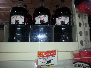 coke 300x225 HOT! Coke 2 Liters only $.67 Each at Walmart!