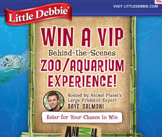 db Little Debbie Giveaway: Win a VIP Zoo or Aquarium Experience and More!