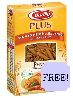 ghk barilla plus whole wheat penne mdn FREE Barilla Plus Pasta at Publix!