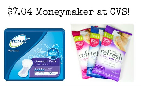 moneymaker1 FREE Ban and Tena Products at CVS!