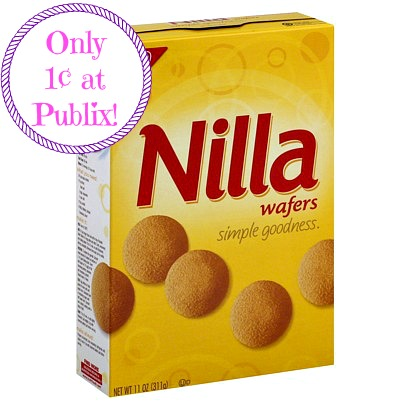 Vanilla Wafers Only 1¢ at Publix, Hot Publix Deals, Crackers, Cookies, Vanilla Wafers, Publix Penny Item