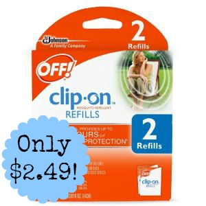 off Off! Clip On Refills only $2.49 at Meijer!