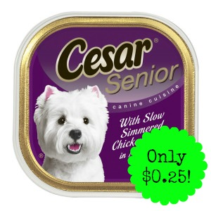 pPETNA 5129289 main t300x300 Cesar Canine Cuisine only $0.25 at Dollar General!