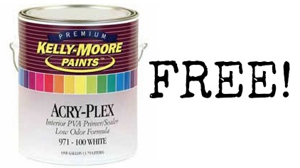paint Free Quart Paint Sample from the Kelly Moore Paints!