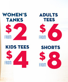 prices Old Navy: Tanks as Low as $2.00 and More!