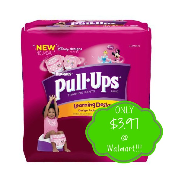 pullups HOT! Huggies Pull Ups Only $3.97 at Walmart!