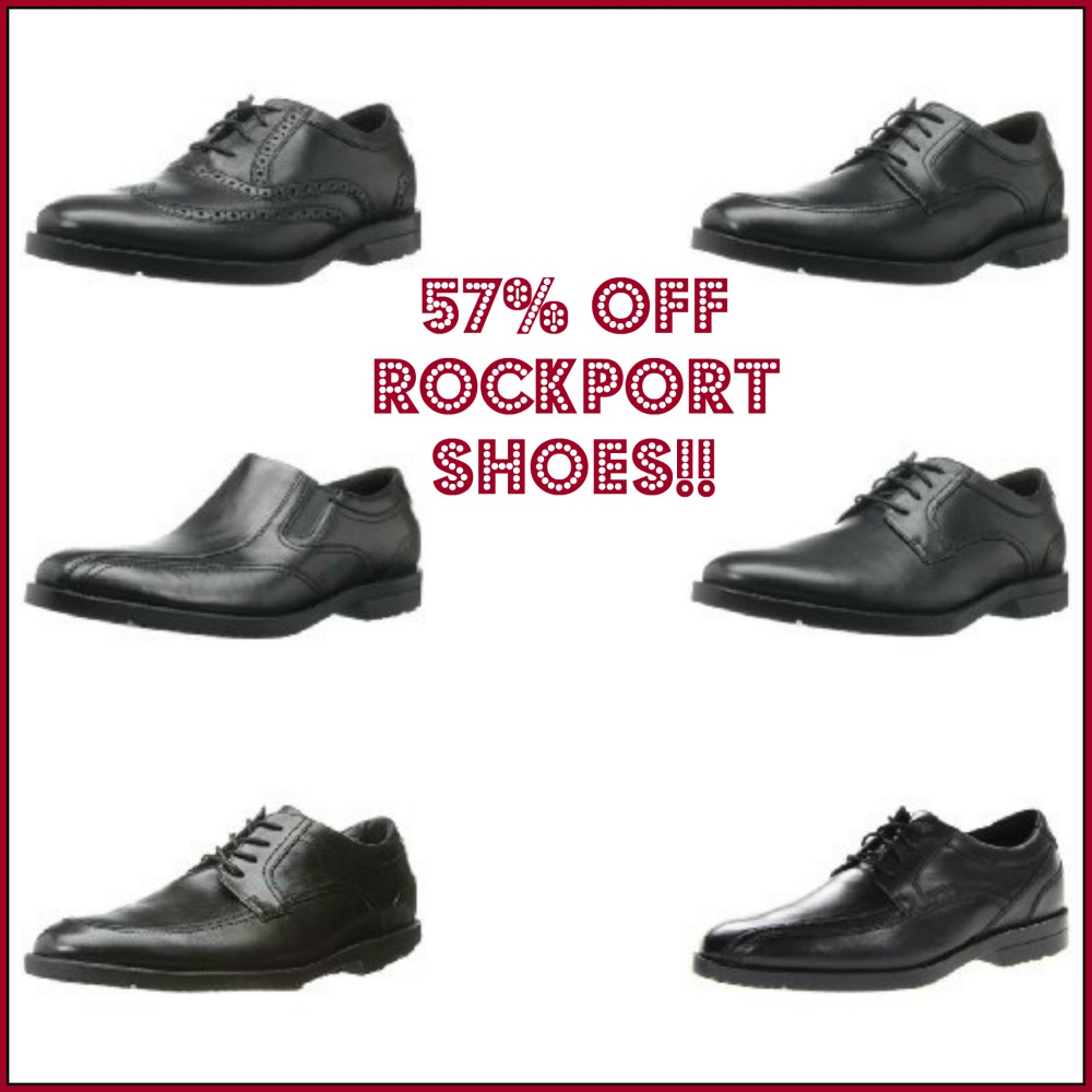 Up to 57% off Rockport Dress Shoes for Men!