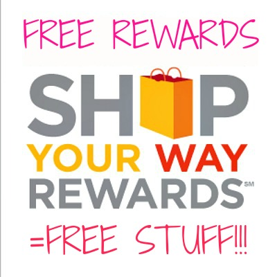 shop your way rewards logo1 4,000 FREE Shop Your Way Rewards Points!