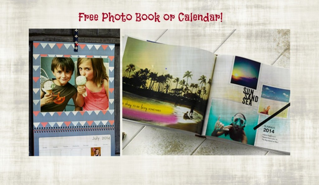 shutterfly collage 1024x597 Free 8x8 Photo Book or 8x11 Photo Calendar (check your email)