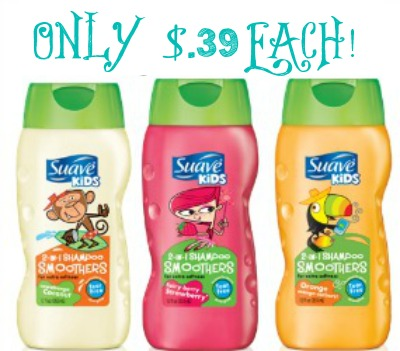 suavekids Suave Kids 2 in 1 Shampoo only $0.39 at Target!