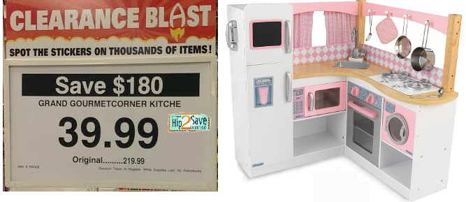 Gentil Kidkraft Grand Gourmet Corner Kitchen Only $39.99 (Reg. $219.99)?!
