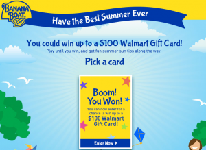 walmart 300x219 Win 1 of 47 Walmart Gift Cards Valued Up to $100!