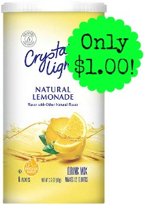 0004300095065 500X500 Crystal Light Mix only $1.00 at Target!