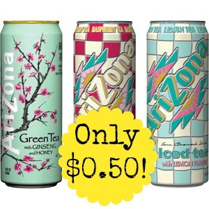 Arizon Tea Arizona Iced Tea only $0.50 at CVS, Starting Tomorrow!