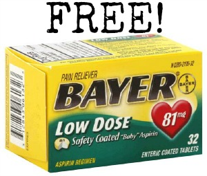 Bayer Low Dose Aspirin FREE Bayer Aspirin at Kroger!