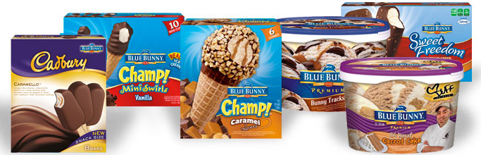 Blue Bunny Frozen Products New $1/1 Blue Bunny Frozen Novelty Printable Coupons!