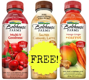 Bolthouse Feature FREE Bolthouse Farms Juice at Kroger and Fred Meyer!