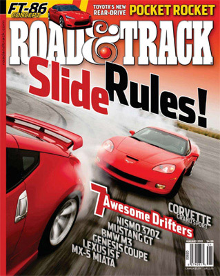 RoadTrack.Magazine.January2010 Free Subscription Road & Track Magazine