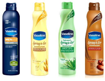 Vaseline Vaseline Spray only $2.00 at Kroger!