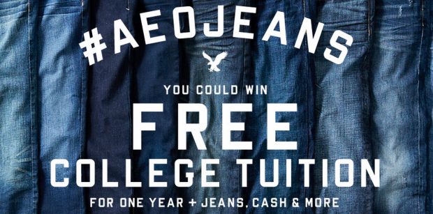 ae giveaway American Eagle: Enter to Win Jeans, AE Gift Cards,  iPad Mini & More!
