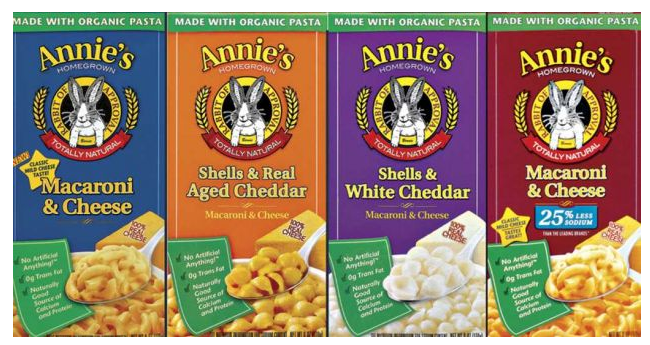 annie 2,500 FREE Boxes of Annie's Mac & Cheese!