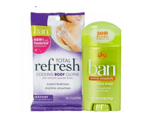 ban Free Ban Deodorant at ShopRite!